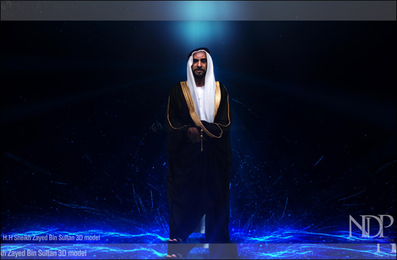 H.H Late Sheikh Zayed Inspirational Speech  in a Pioneering Hologram by NDP