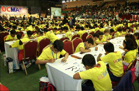 Over 1100 UAE children test their minds at mental math competition