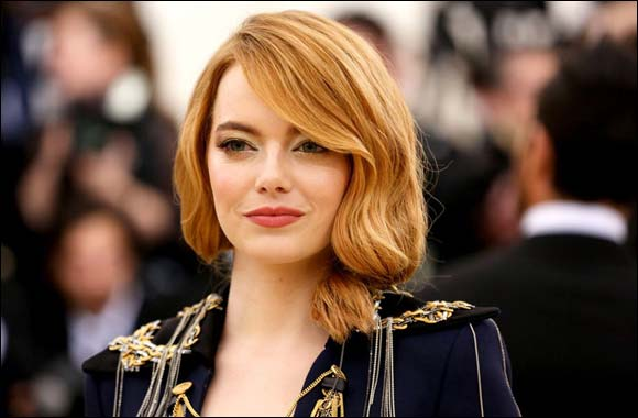 Emma Stone 2018 Met Gala Heavenly Bodies: Fashion and the Catholic Imagination