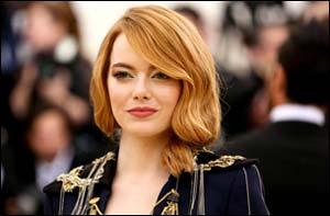 Emma Stone 2018 Met Gala Heavenly Bodies: Fashion and the Catholic Imagination