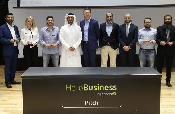 Etisalat Awards 'Hello Business Pitch' Competition Winners