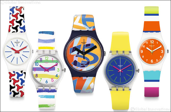 Swatch Introduces Its Latest  Spring-summer 2018 Collection