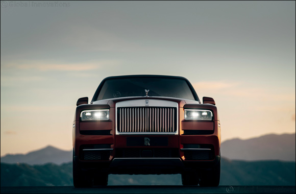 Effortless Everywhere:  The Rolls-Royce Cullinan
