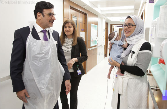 UAE Ambassador visits Great Ormond Street Hospital in London