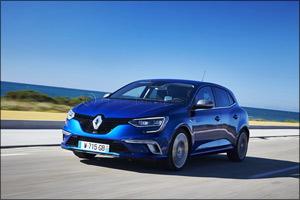 New Renault Megane GT Arrives in the Middle East
