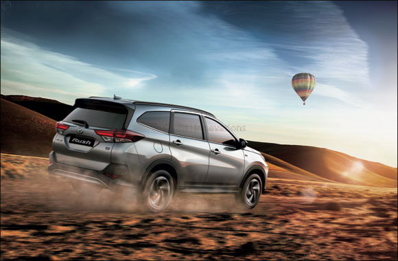 Toyota Rush makes a new beginning in the UAE