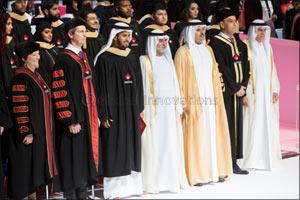 HH Sheikh Nahyan bin Mubarak Al Nahyan, UAE Minister of Tolerance, confers degrees on 360 graduates