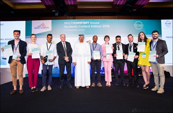 Saint-Gobain announces the winners of the 14th edition of its  MultiComfort House Students Contest