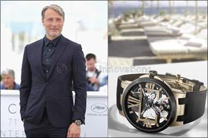 Mads Mikkelsen Spotted on Red Carpet at Cannes Wearing Ulysse Nardin Masterpiece