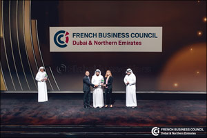 The French Business Council Dubai and Northern Emirates Receives the Dubai Quality Appreciation Awar ...