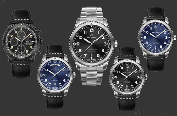 Breitling's Navitimer 8 Collection Arrives in  The Middle East