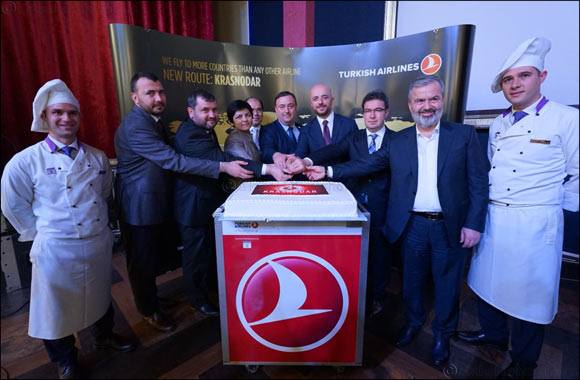 Turkish Airlines, that Flies to the Most Countries of the World, has Added Krasnodar to its Flight Network as the 303rd Destination