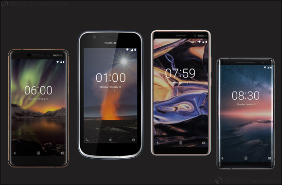 Stay connected with your loved ones this Ramadan season with the Nokia smartphones