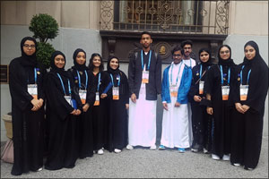 �Think Science' Ambassadors Participate in the Prominent Intel International Science and Engineering ...