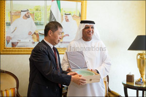 H.H Sheikh Saud Meets Palace Museum Beijing Officials in Ras Al Khaimah to Unearth Details of Ancien ...