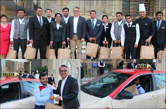 Villa Rotana Celebrating the Holy Month of Ramadan with Dubai Taxi Drivers