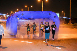 Sheikh Juma launches his Asian Games preparations with NAS Run