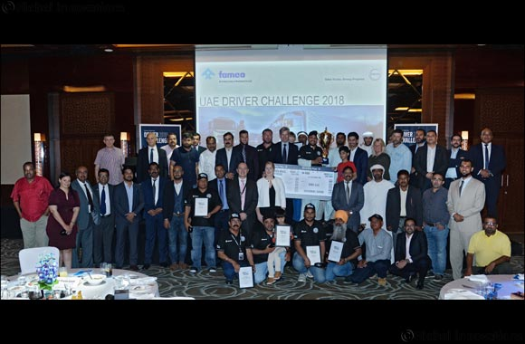 FAMCO names the best truck driver in the UAE  in the Volvo Trucks Driver Challenge 2018