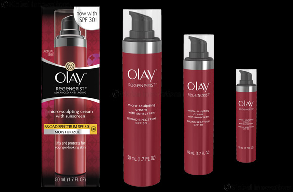 Olay Regenerist Microscuplting Cream SPF30 Keeps You Perfectly Protected During the Sunny Summer Months
