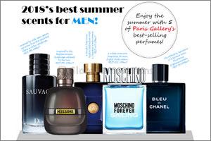 Best-selling Summer Perfumes for Men & Women at Paris Gallery