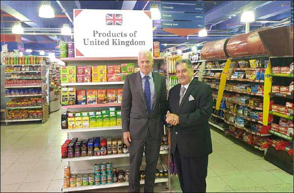 British Consul General Visits Al Maya Supermarkets