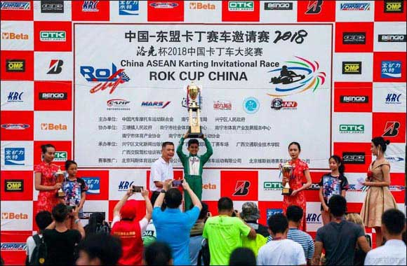 Al Dhaheri Powers to a Clean Sweep In China