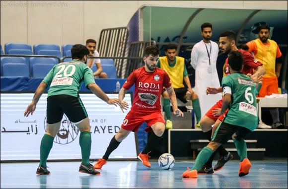 Al Taher knock fancied Fuhood Zaabeel out of NAS Futsal Championships