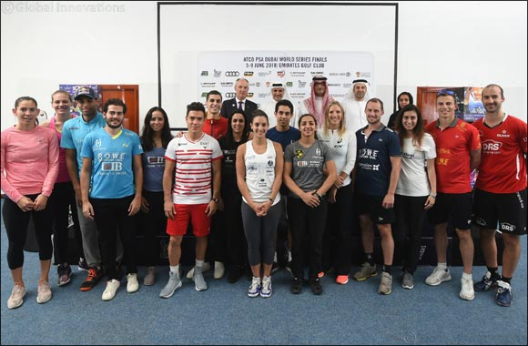 Squash Stars Tee Off at Emirates Golf Club This Week