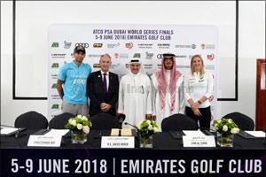 Squash Stars Tee Off at Emirates Golf Club This Week
