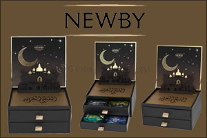 World's Leading Luxury Tea Brand Newby Teas Unveils Limited Edition Gift Box for the Holy Month of R ...