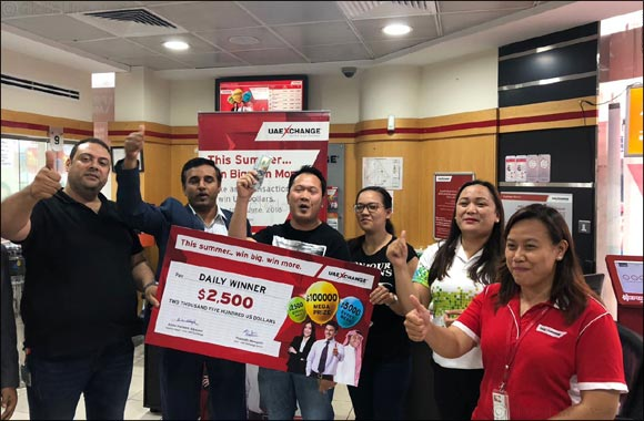 Win $100,000 with UAE Exchange