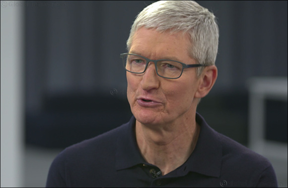 "In an exclusive interview Apple CEO tells CNN- ""I don't subscribe to the machines taking over the world"""