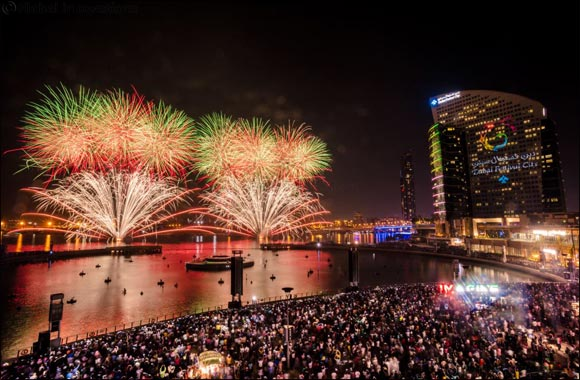 Two Sets of Spectacular Eid Fireworks at Dubai Festival City Mall