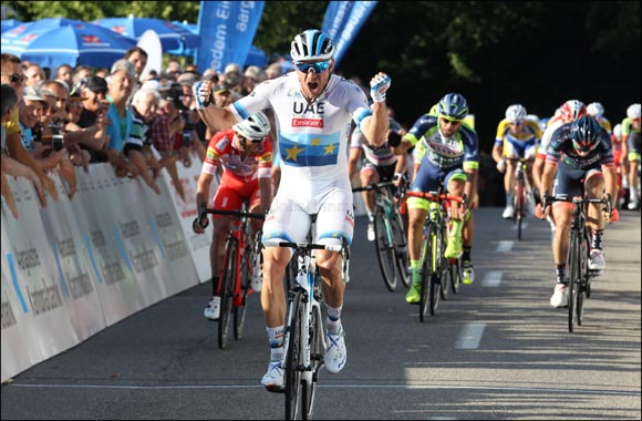 Sprint Superstar! Kristoff Rules the Roost, Securing Top Spot for Uae Team Emirates