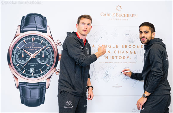Great Moments  Manero Flyback accompanies Swiss National Soccer Team  To  Russia