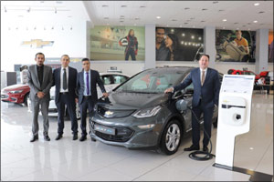 Al Ghandi Auto brings the most Affordable Electric Vehicle - Chevrolet Bolt EV - to the UAE Market