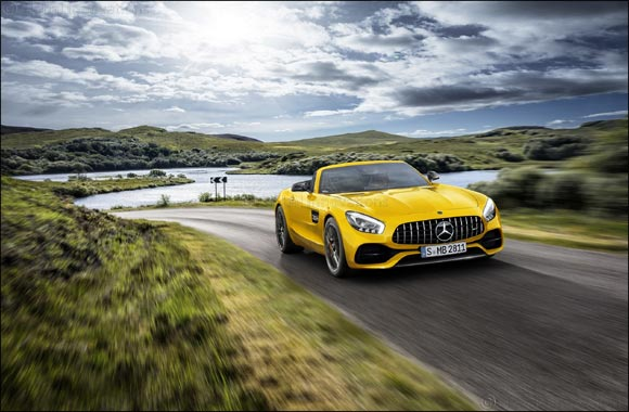 New open-air member of the AMG GT family