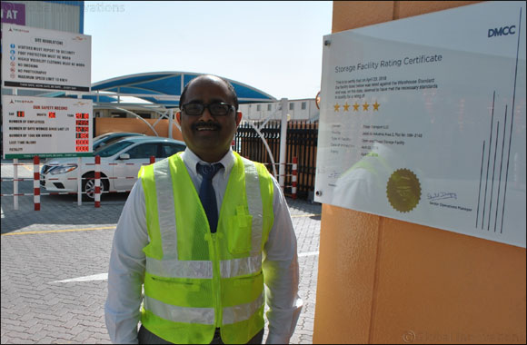 Tristar Group's Jebel Ali warehouses receive DMCC's 5-star rating for second and third consecutive years