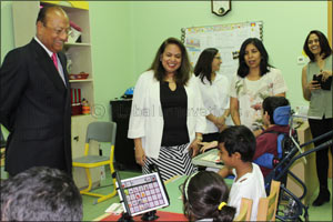 Nikai Group supports Al Noor Centre with assistive technology devices
