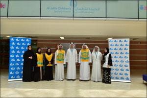 du Distributes Eid Gifts at Al Jalila Children's Hospital