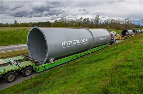 Hyperloop Transportation Technologies Signs Agreement for Commercial System in Ukraine