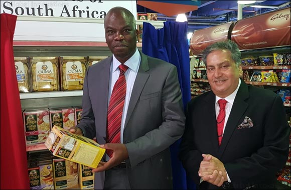 South African Consul General  releases new products from South Africa