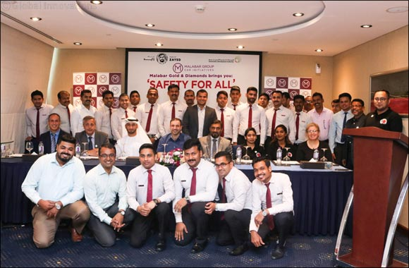 Malabar Gold & Diamonds conducted 'Safety for All' training in association with Community Development Authority, Dubai.