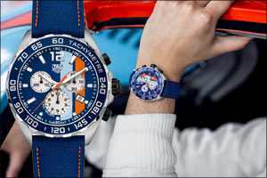TAG Heuer celebrates the 50th anniversary of the Gulf victory in the 24 Hours of Le Mans