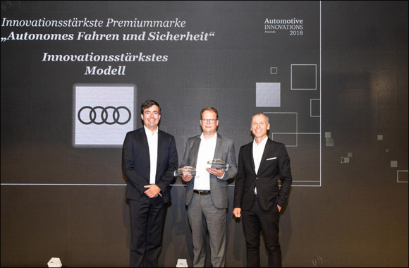 Audi A8 most innovative model of 2018