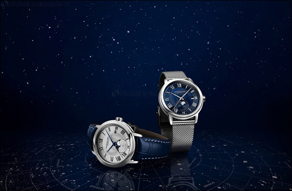 RAYMOND WEIL celebrates the stellar world with the new Maestro Moon Phase