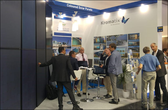 Emirates Insolaire's first-of-its-kind coloured solar panel technology gets strong response at Intersolar Europe