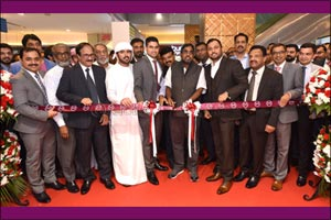 Malabar Gold & Diamonds' opened its renovated & expanded showroom at Madinat Zayed Shopping Centre,  ...