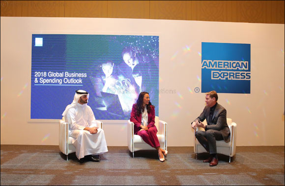 Middle East Corporate Finance Leaders Foresee Substantial Economic Growth and Plan to Increase Spending and Investment Worldwide, American Express Global Survey