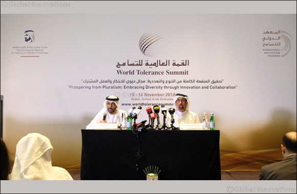 UAE launches first-ever World Tolerance Summit to promote diversity through innovation